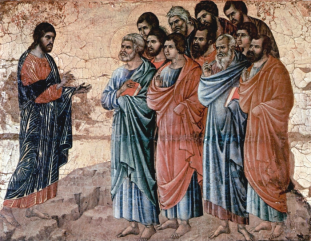 Jesus Commissions the Disciples